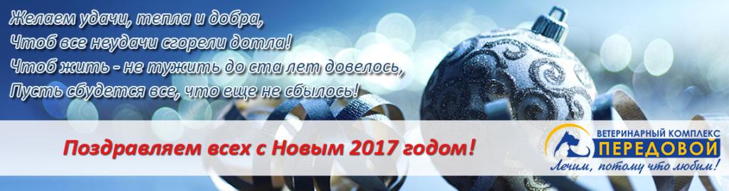 Поздравляем всех с Новым 2017 годом!